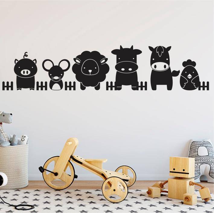 Stenske nalepke za otroške sobe