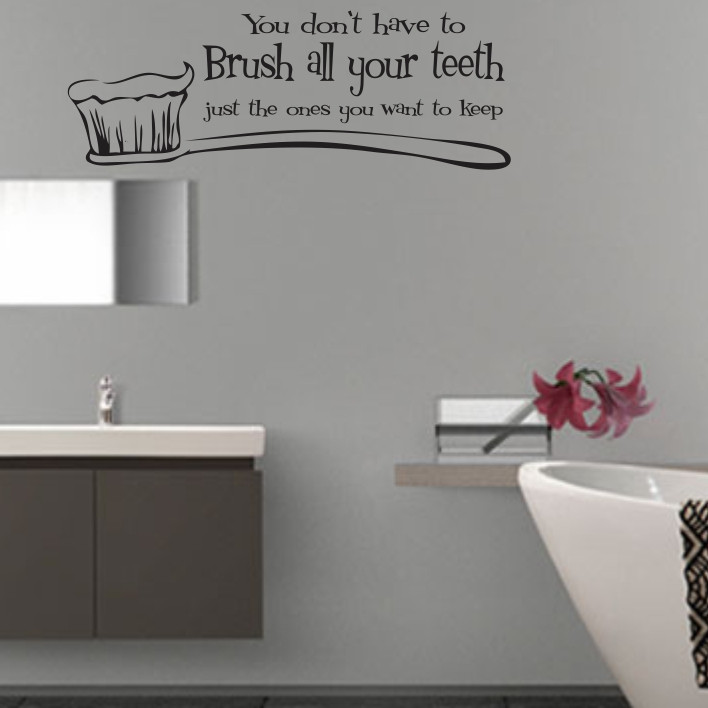 You don't have to brush all your teeth A0059
