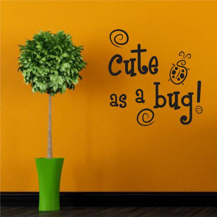 Cute as a bug