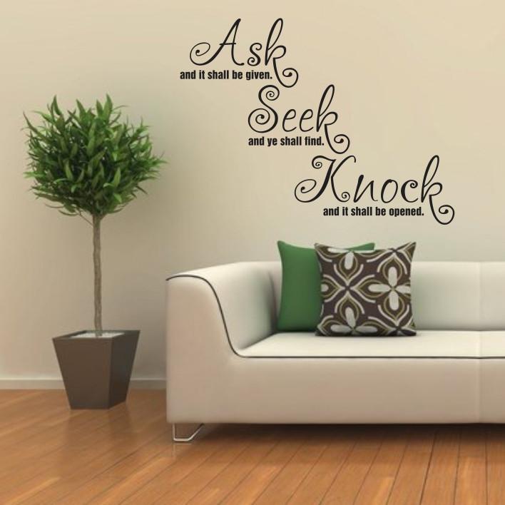 Ask, Seek, Knock A0124