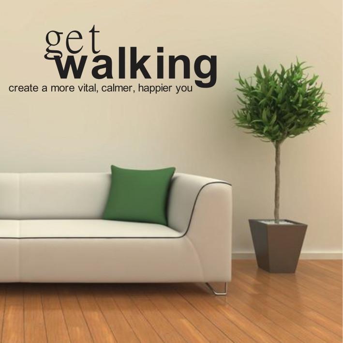 Get walking A0126