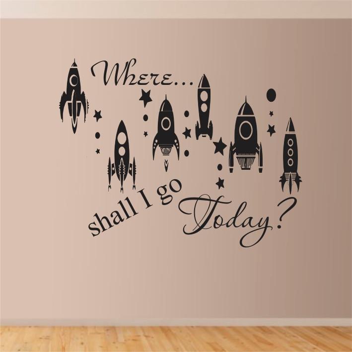 Where... shall I go Today? A0131