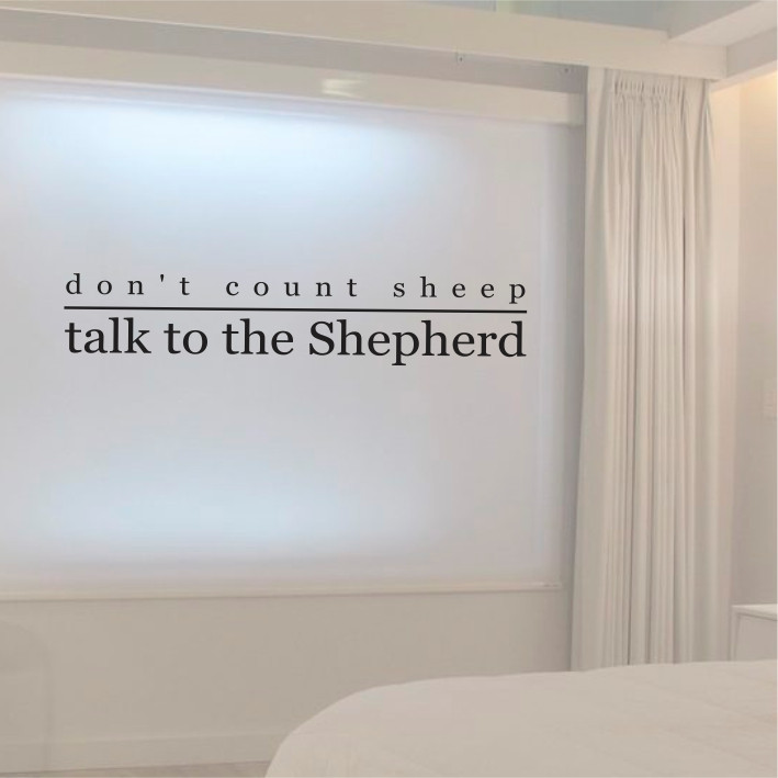 Don't count sheep A0154