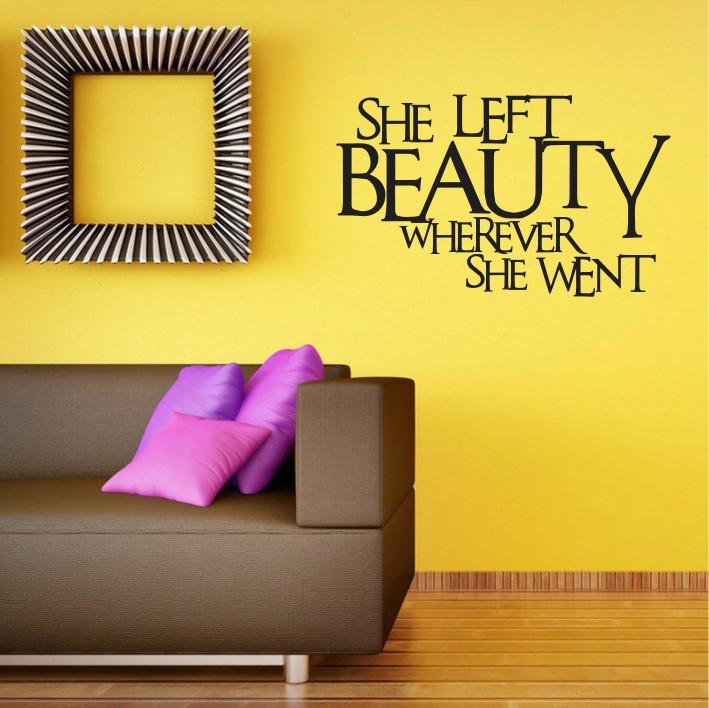 She left beauty wherever she went A0225
