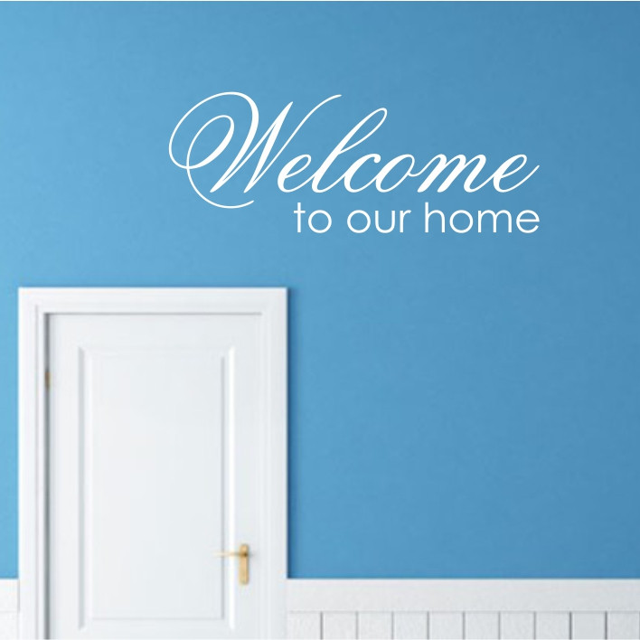 Welcome to our home A0256