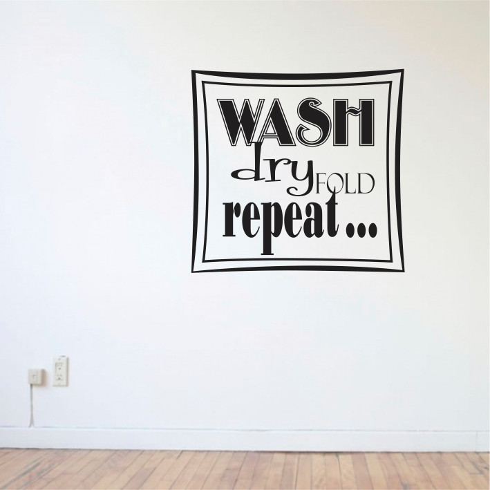 Wash, dry, repeat... A0269