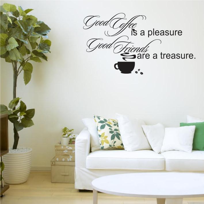 Good Coffee, Good Friends A0297
