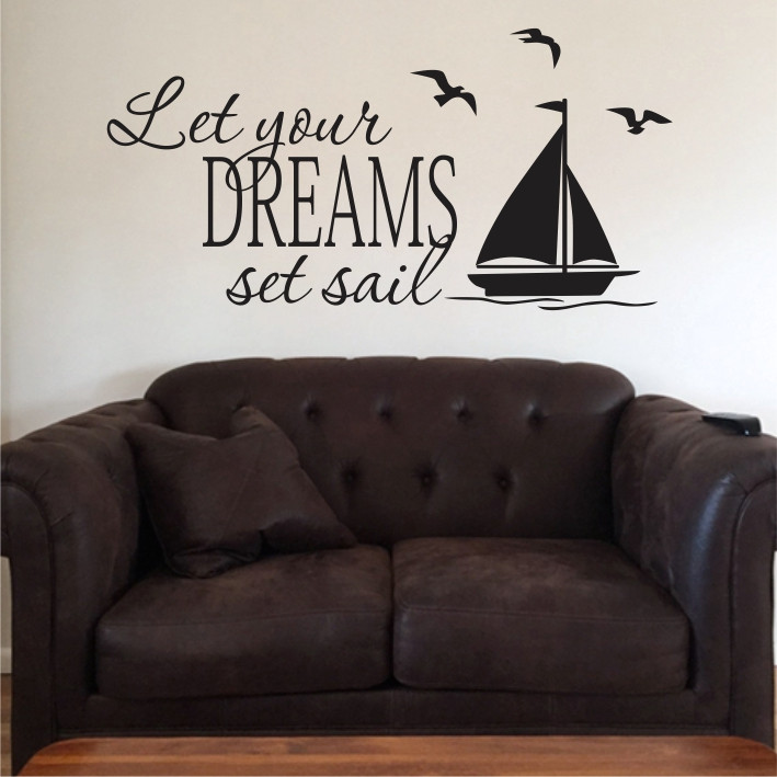Let your dreams set sail A0333