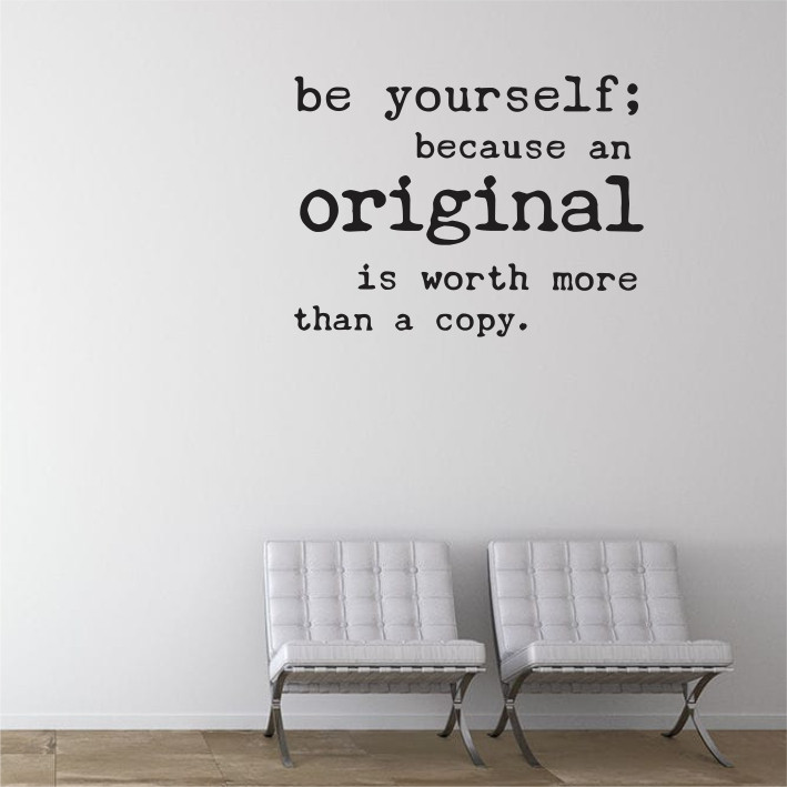 Be yourself A0345