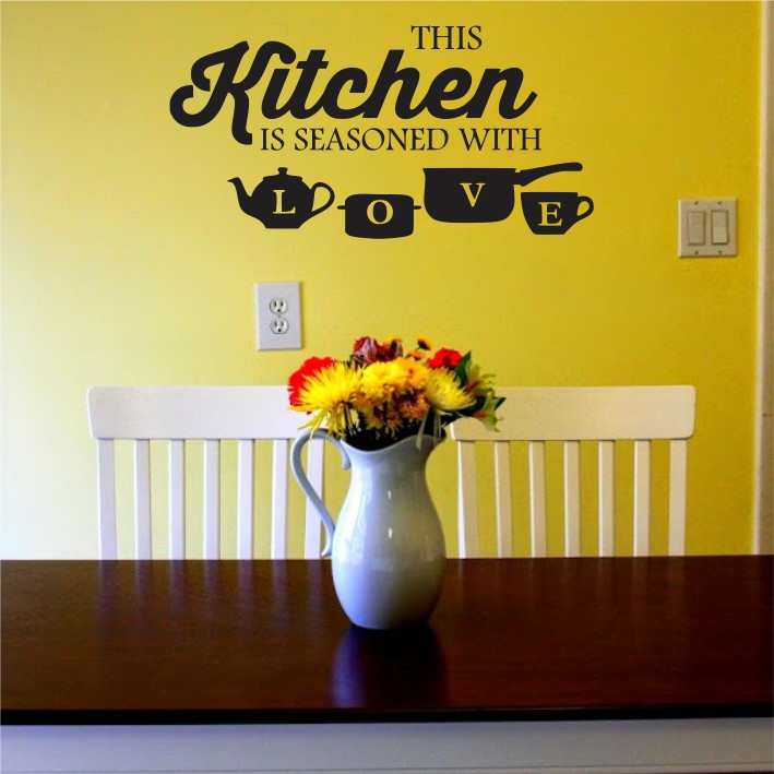 This kitchen is seasoned with love A0370