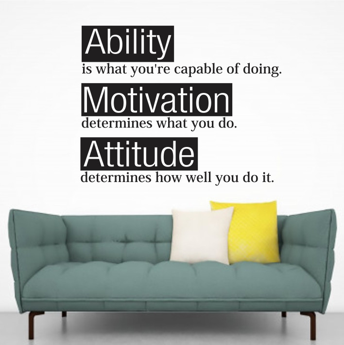 Ability, Motivation, Attitude A0371