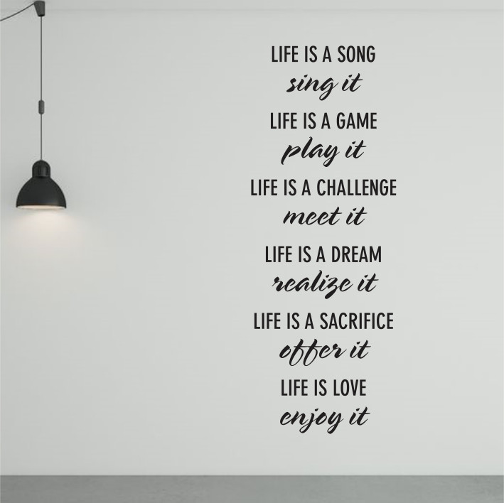 Live is a song.. A0387