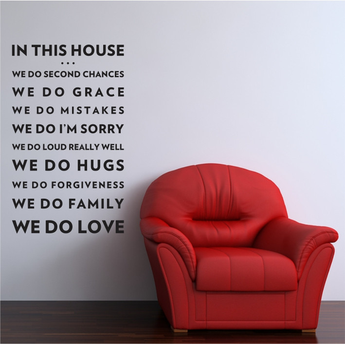 In this house... A0398
