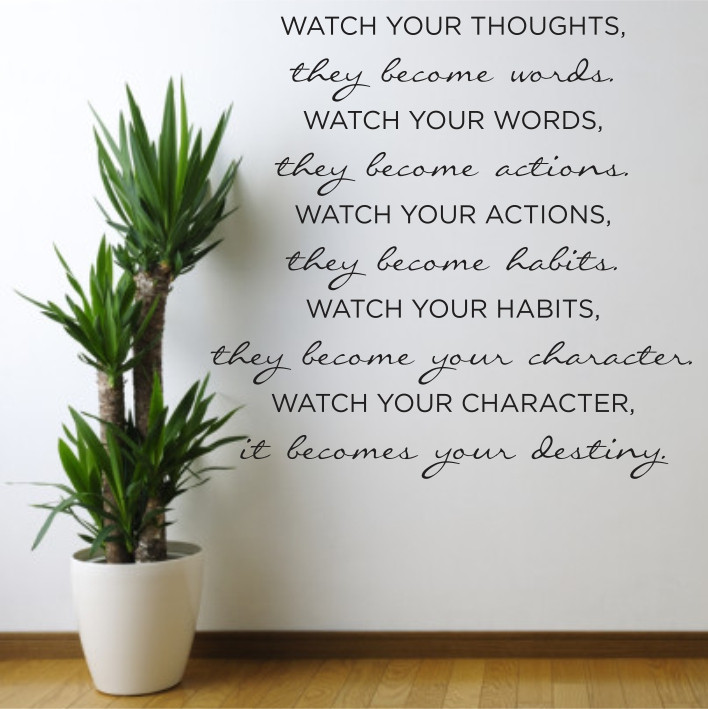Watch your thoughts... A0400