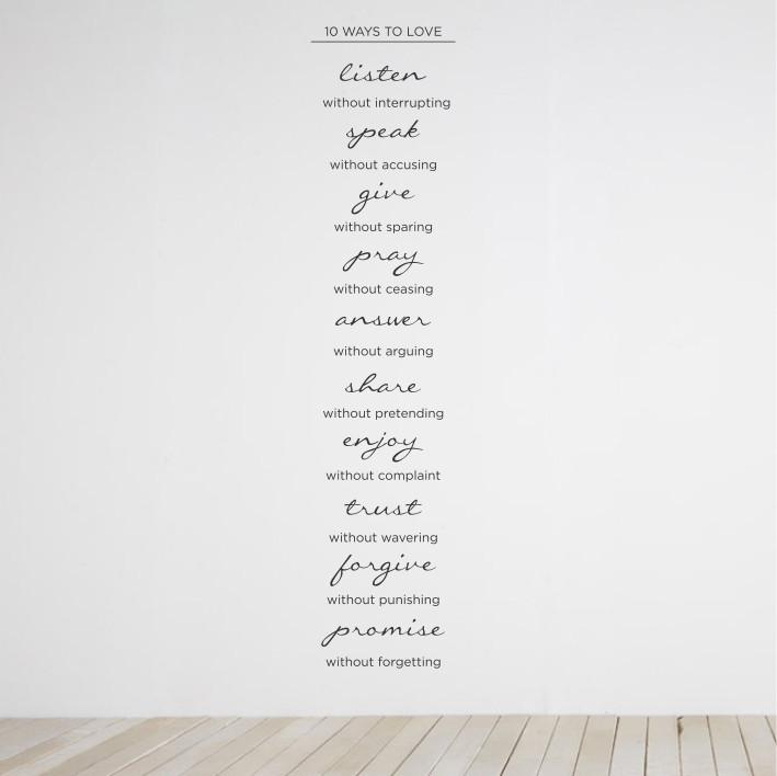 10 ways to love A0433
