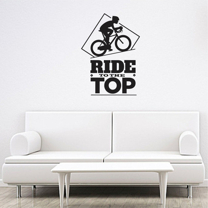 Ride to the top A0474