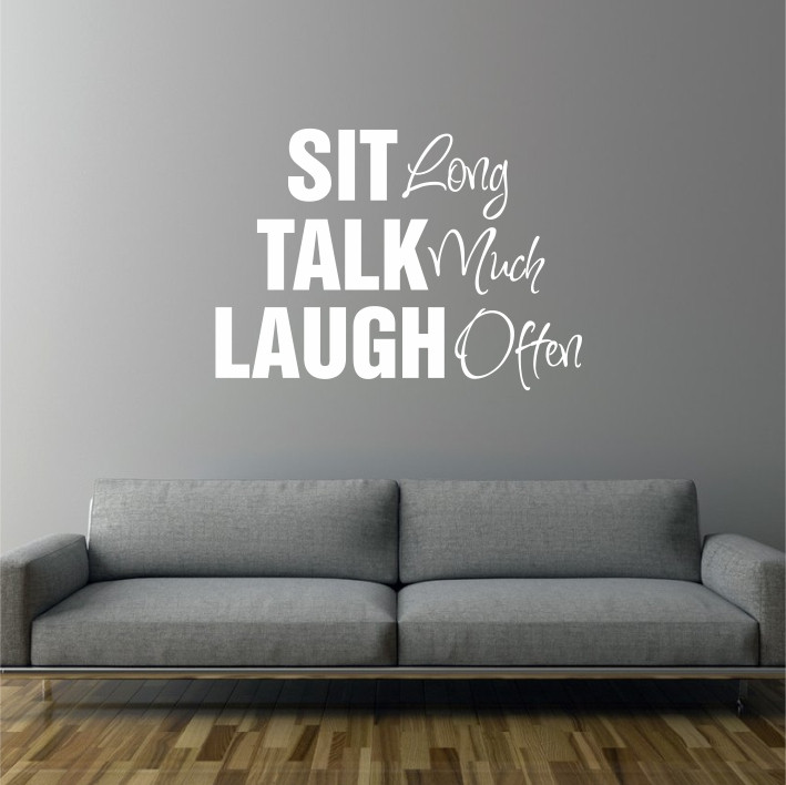 Sit, Talk, Laugh