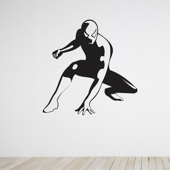 Stenska nalepka Spider-Man C0046