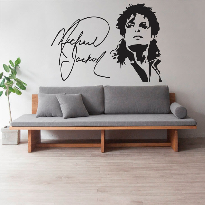 Stenska nalepka Michael Jackson C0055