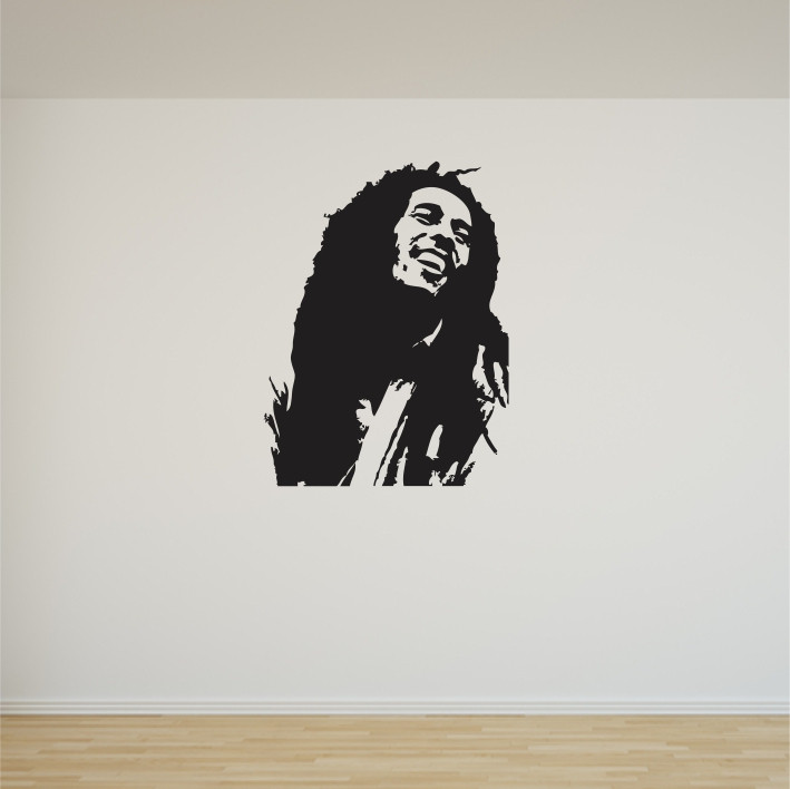 Stenska nalepka Bob Marley C0070