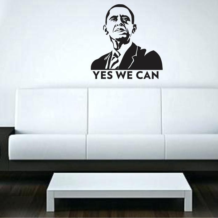 Stenska nalepka Barack Obama C0071