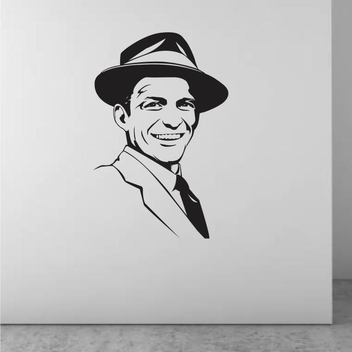 Stenska nalepka Frank Sinatra C0080