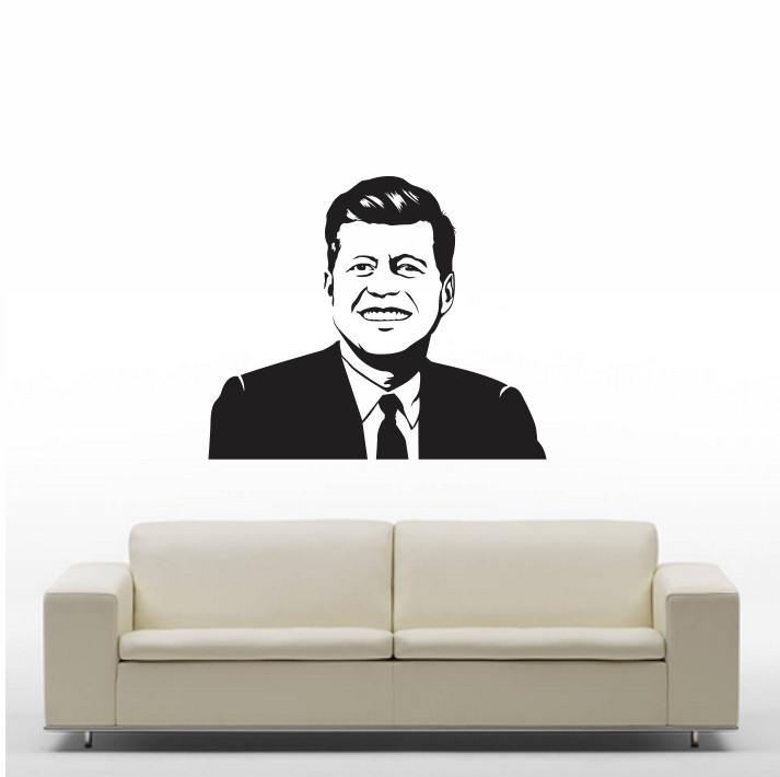 Stenska nalepka John F. Kennedy C0081