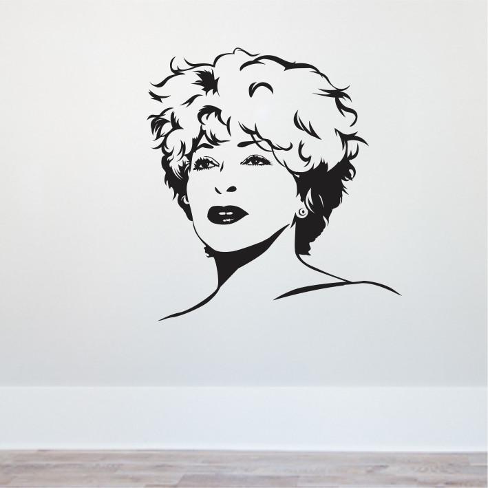 Stenska nalepka Tina Turner C0083