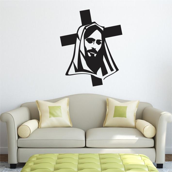 Stenska nalepka Jezus C0086
