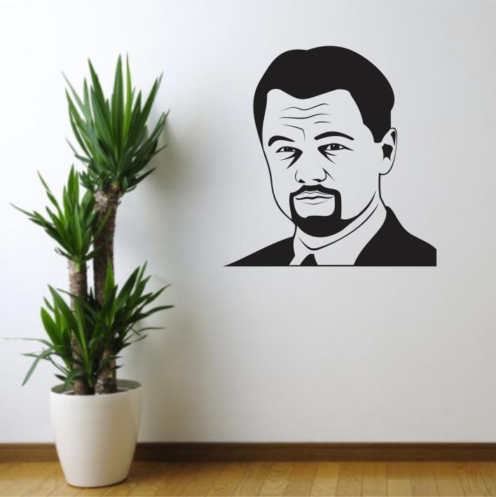 Stenska nalepka Leonardo DiCaprio C0087
