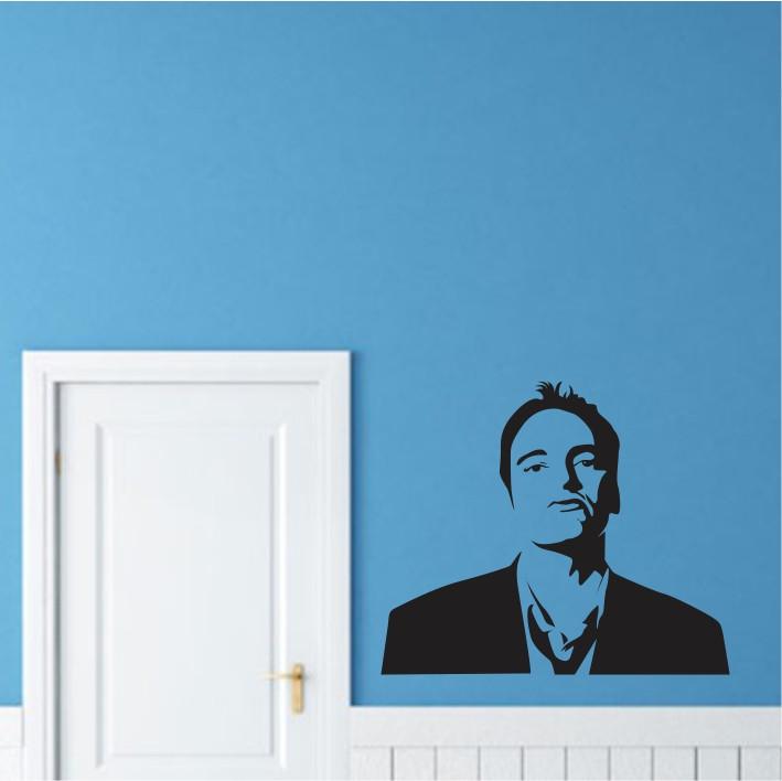 Stenska nalepka Quentin Tarantino C0099