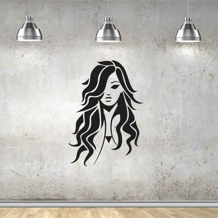 Stenska nalepka Ženska C0103