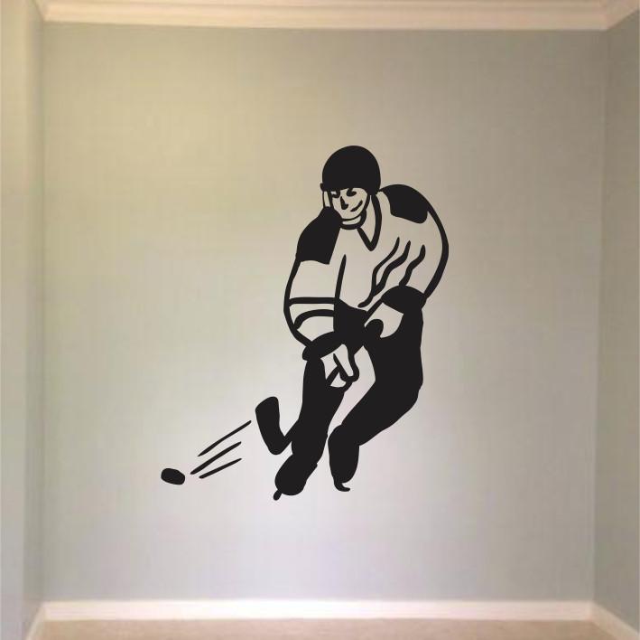 Stenska nalepka Hokejist C0148