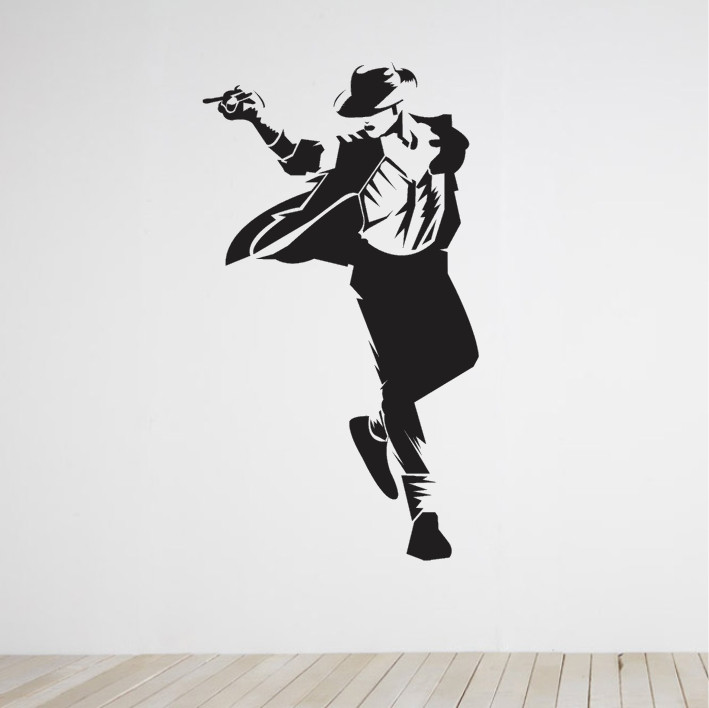 Stenska nalepka Michael Jackson C0151