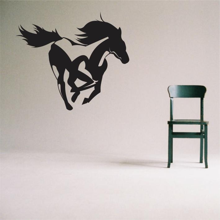 Stenska nalepka Konj E0021