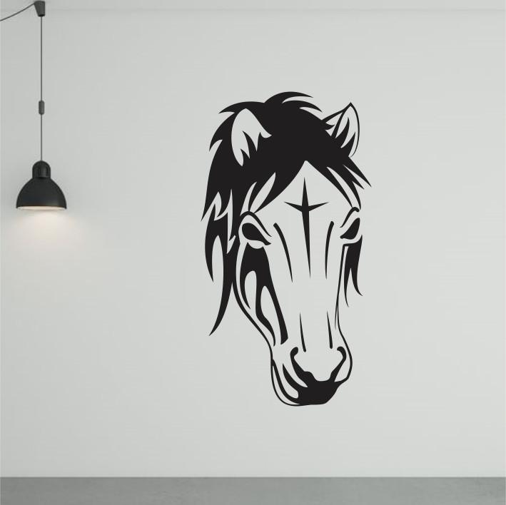 Stenska nalepka Konj E0024