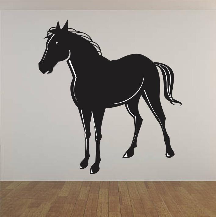 Stenska nalepka Konj E0066