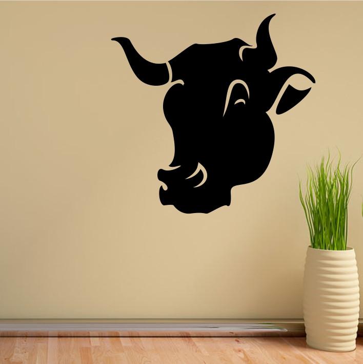 Stenska nalepka Krava E0067
