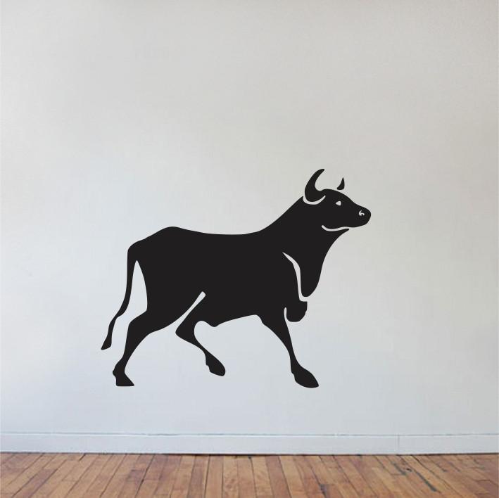 Stenska nalepka Krava E0069
