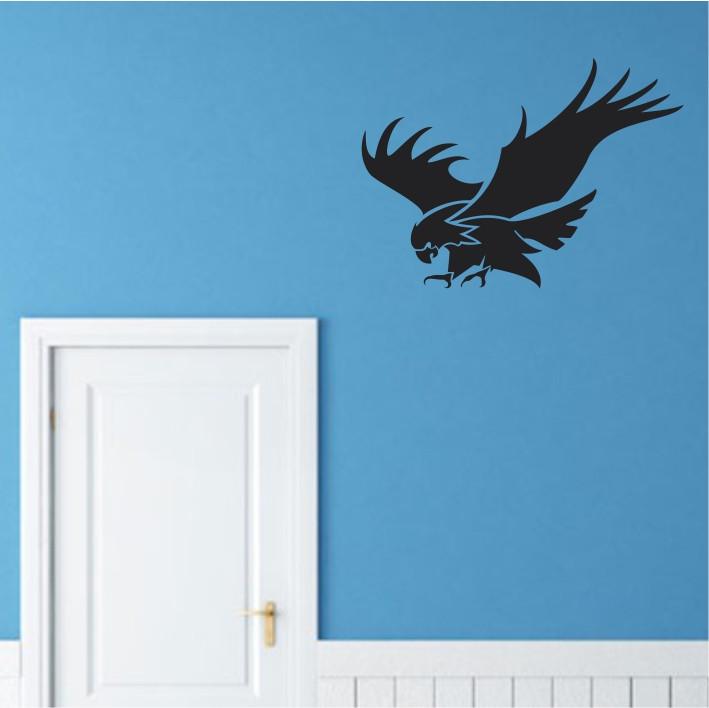 Stenska nalepka Ptič E0082