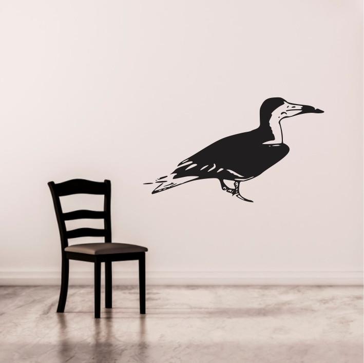 Stenska nalepka Ptica E0092