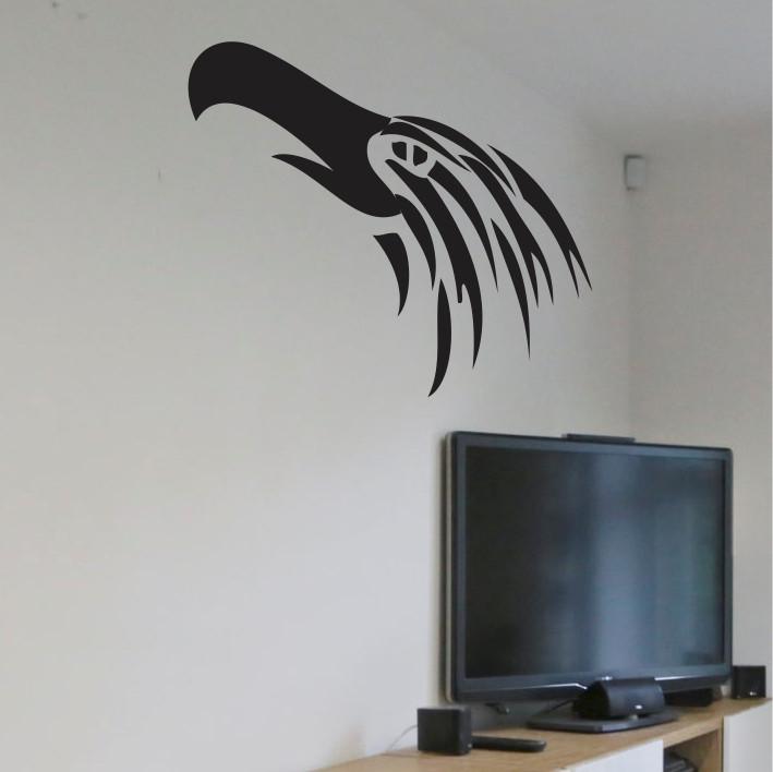 Stenska nalepka Ptič E0098