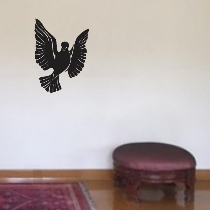 Stenska nalepka Ptica E0101