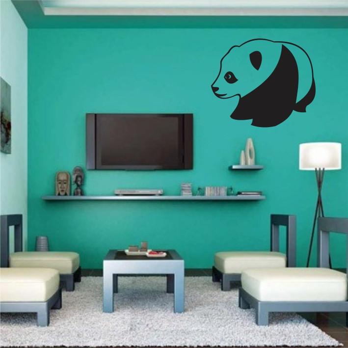 Stenska nalepka Panda E0142