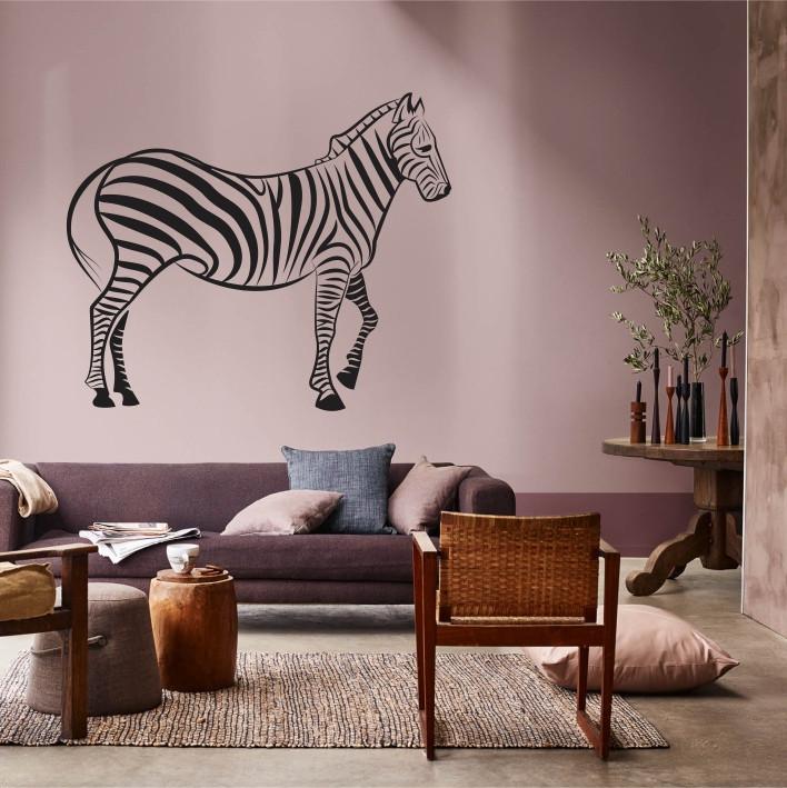 Stenska nalepka Zebra E0169