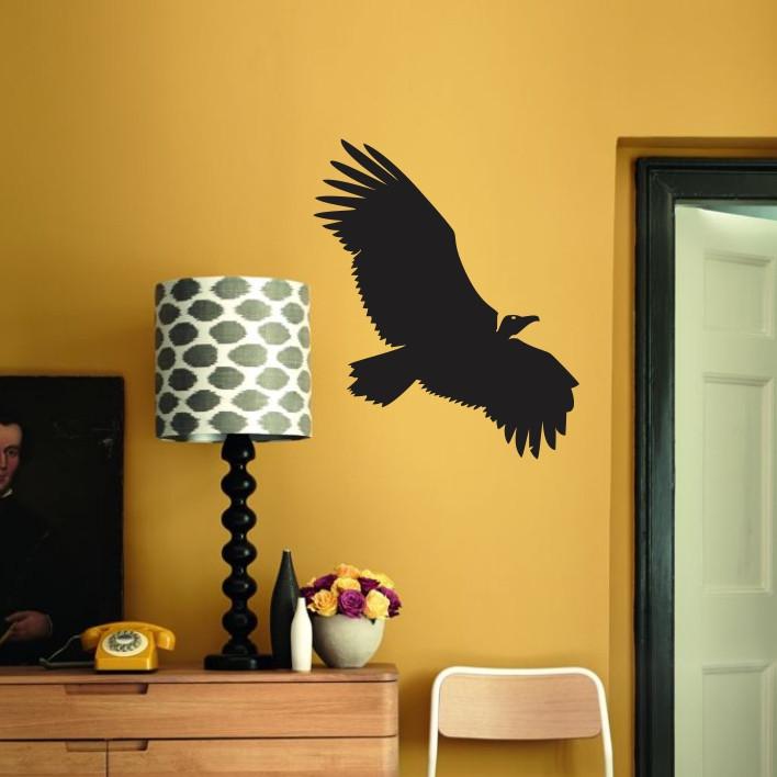 Stenska nalepka Ptica E0170