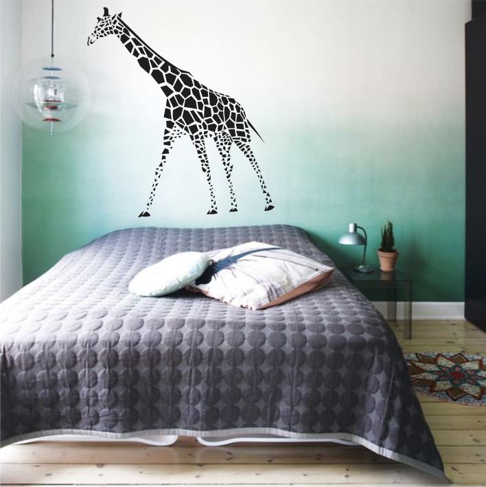 Stenska nalepka Žirafa E0176
