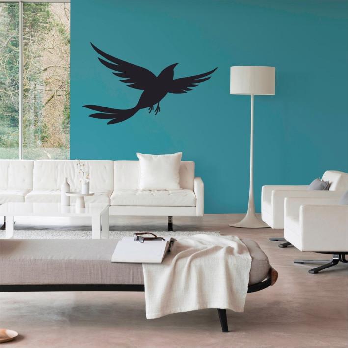 Stenska nalepka Ptica E0235