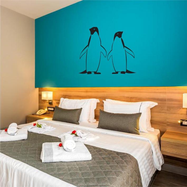 Stenska nalepka Pingvina E0242