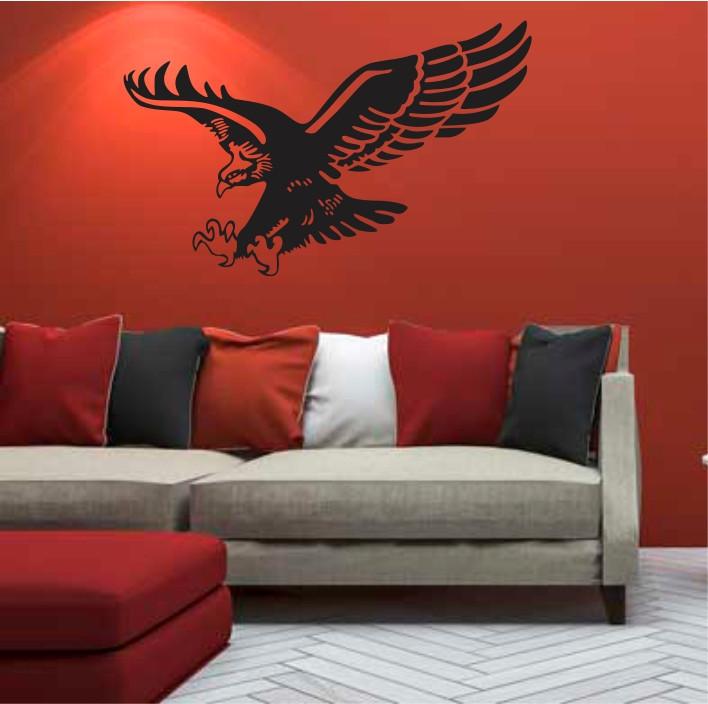 Stenska nalepka Ptica E0367